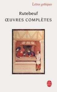 Pasajes Librería Internacional Oeuvres Complètes Rutebeuf