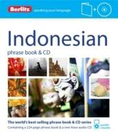 Indonesian Phrase Book and CD