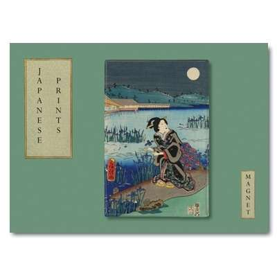 IMÁN Japanese prints - Summer scene