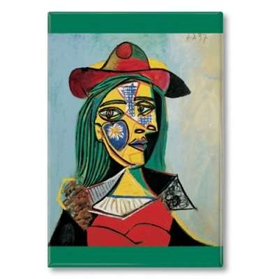 IMÁN Picasso - Woman in Hat and Fur Collar