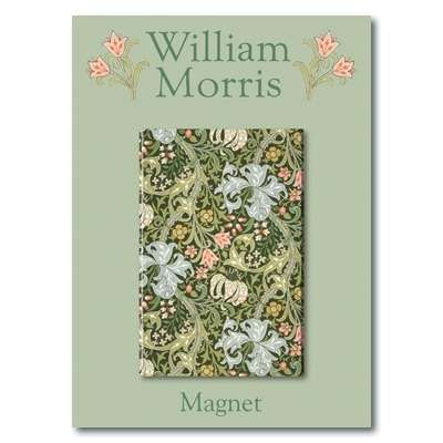 IMÁN William Morris - Golden Lily Pattern