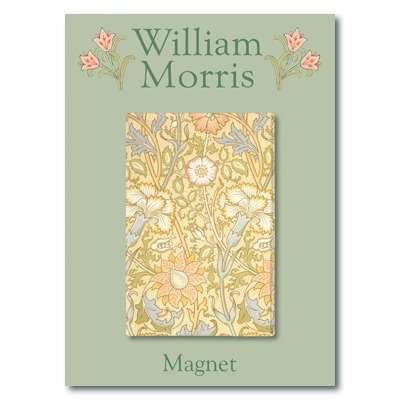 IMÁN William Morris - Pinks and Rose Pattern