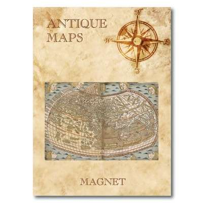 IMÁN Antique Maps - Ptolemy's World Map