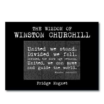 IMÁN Churchill - United we stand