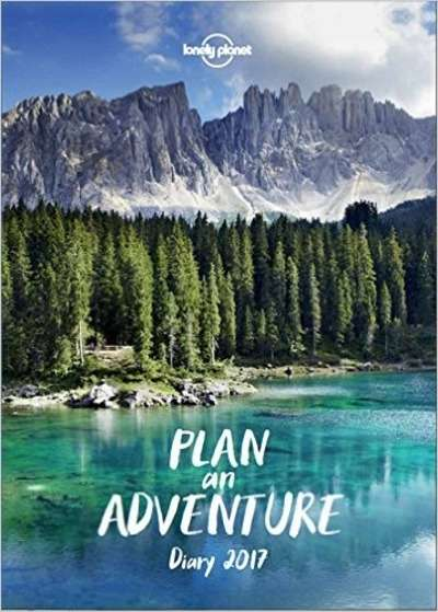 2017 Diario Plan an Adventure - Lonely Planet