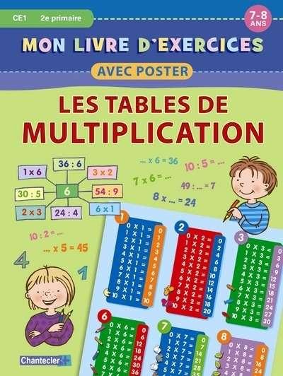 Pasajes librer a internacional mon livre d 39 exercices avec poster tables de multiplication 7 - Poster table de multiplication ...