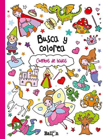 PASAJES Librería internacional: Busca y colorea. Cuentos de hadas ...