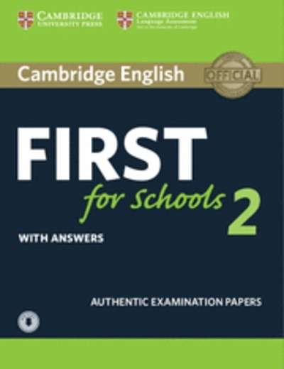 Cambridge English: First  for Schools 2 Self Study Pack with Answers x{0026} Audio Download