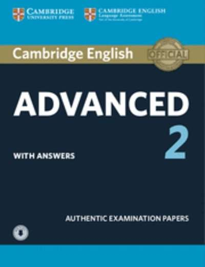Cambridge English: Advanced (CAE) 2 Self Study Pack with Answers x{0026} Audio Download