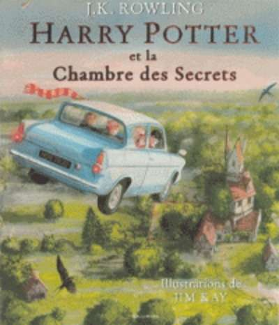 Harry Potter Tome 2: Harry Potter et la Chambre des Secrets