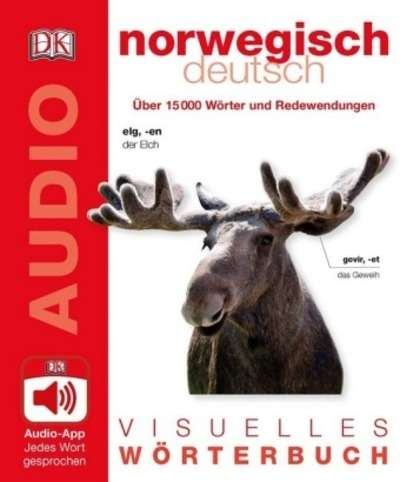 Visuelles Wörterbuch Norwegisch Deutsch, m. Audio-App