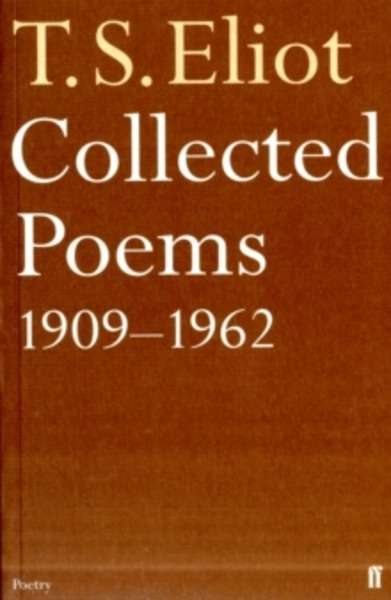 Pasajes Librería Internacional Collected Poems 1909 1962
