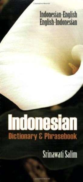 Indonesian Dictionary x{0026} Phrasebook: Indonesian-english English-indonesian
