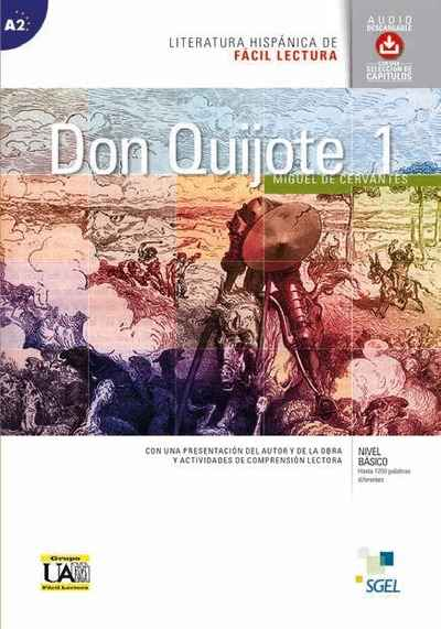 Don Quijote 1 (A2) + CD audio