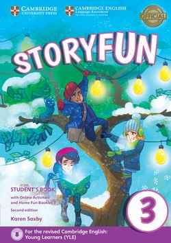 Storyfun for Movers Level 3 Student's Book with Online Activities and Home Fun Booklet 3 2nd Edition