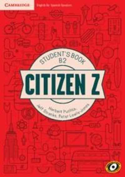 Citizen Z B2 Student's Book with Augmented Reality