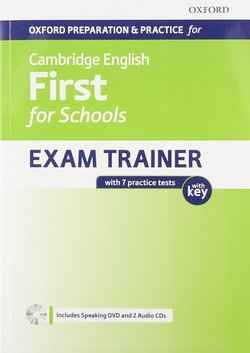 First for Schools Exam Trainer Student's Book Pack with Answer Key