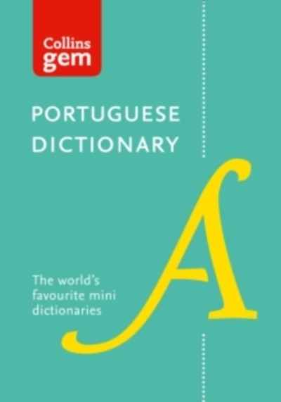 Collins Portuguese Dictionary Gem Edition : Trusted Support for Learning, in a Mini-Format