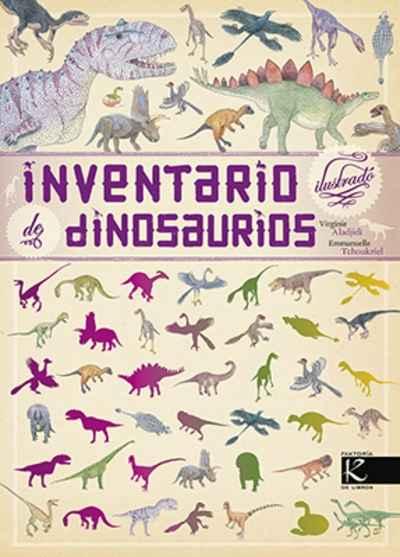 Resultado de imagen de inventario ilustrado de dinosaurios