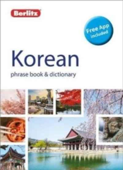 Berlitz Phrase Book x{0026} Dictionary Korean