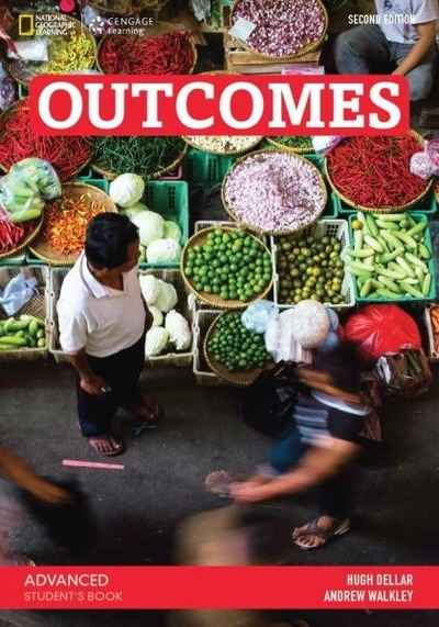 Outcomes advanced student's book + Access code + Class DVD + writing and vocabulary booklet