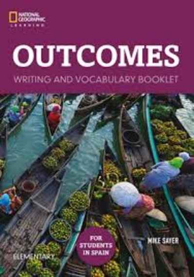 Outcomes Elementary Students book + access code + class DVD + writing and vocabulary booklet