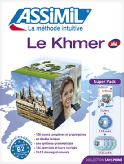 Le Khmer Assimil Superpack + 4 CDs