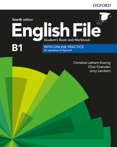 English File Intermediate 4th Edition B1. Student's Book and Workbook with Key Pack