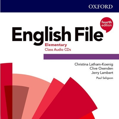 English File 4th Edition Elementary. Class Audio CD (3)