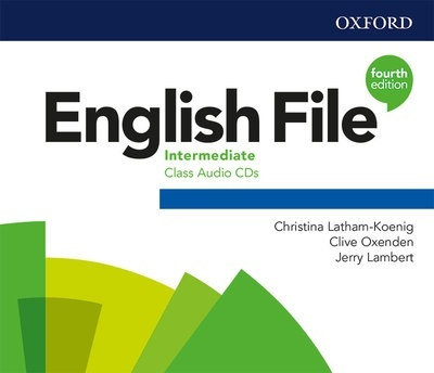 English File 4th Edition Intermediate. Class Audio CD (3)
