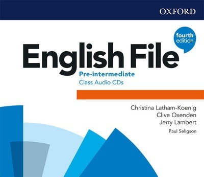English File 4th Edition Pre-Intermediate. Class Audio CD (3)