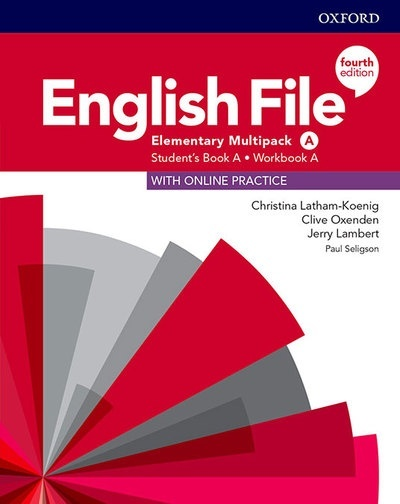English File 4th Edition Elementary. Multipack A