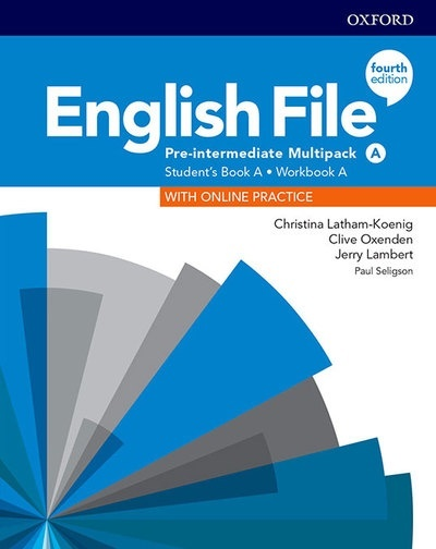 English File 4th Edition Pre-Intermediate. Multipack A