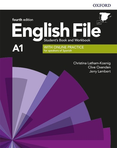 English File Beginner 4th Edition A1. Student's Book and Workbook with Key Pack
