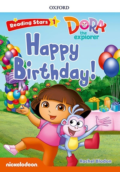 Reading Stars 1. Dora Happy Birthday! MP3 Pack