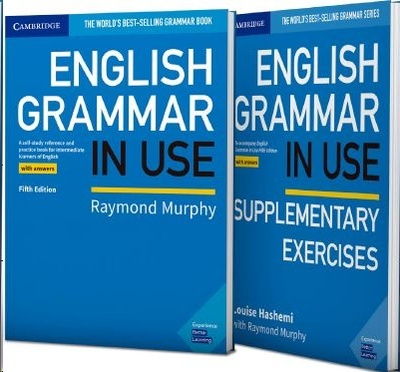 English Grammar in use book with answers and supplementary exercises pack