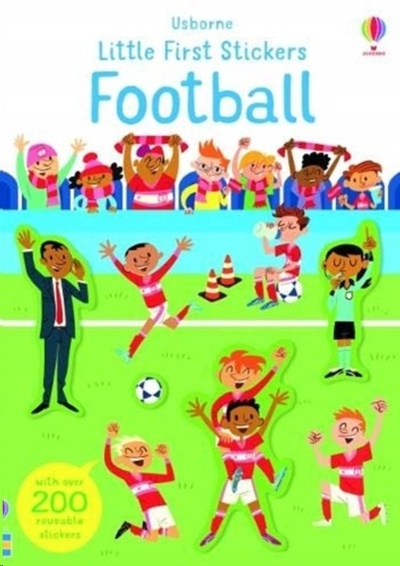 Little First Stickers Football