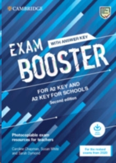 Exam Booster for Key and Key for Schools with Answer Key with Audio for the Revised 2020 Exams : Photocopiable E