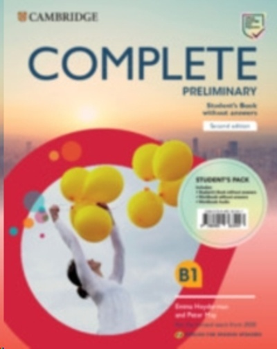 Complete Preliminary Second edition English for Spanish speakers. Student's Pack (Student's Book without answers