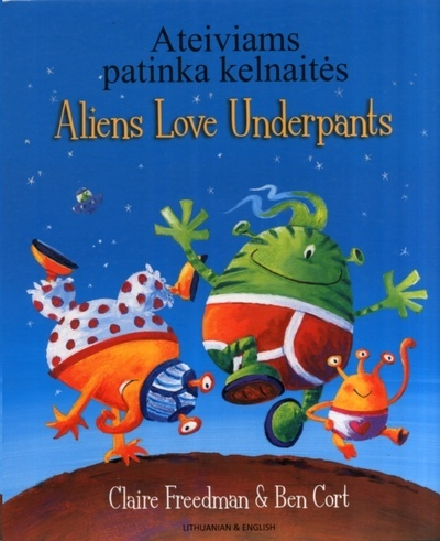 Aliens love underpants (Lithuanian/English)