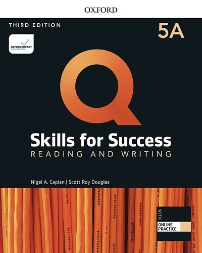 Q: Skills for Success 5  Reading and Writing Split Student Book A with iQ Online Practice