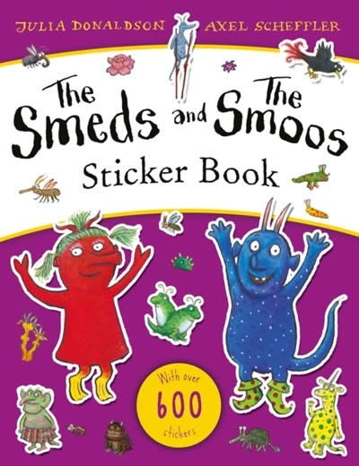 The Smeds and the Smoos Sticker Book