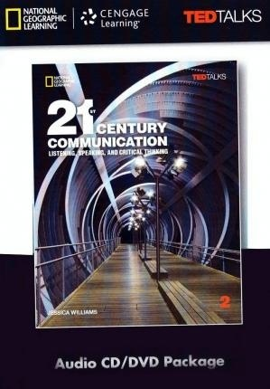 21st Century Communication 2: Listening, Speaking and Critical Thinking: Audio CD /DVD