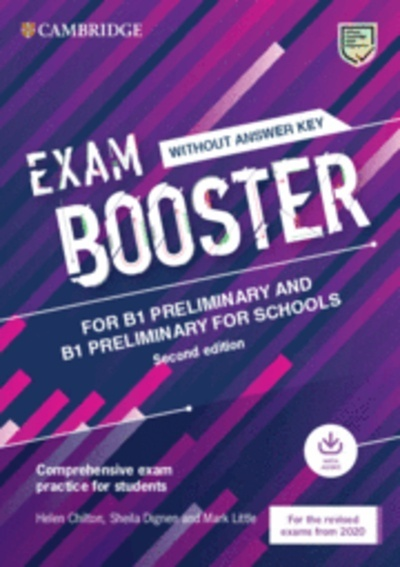 Exam Booster for Preliminary and Preliminary for Schools without Answer Key with Audio for the Revised 2020 Exam