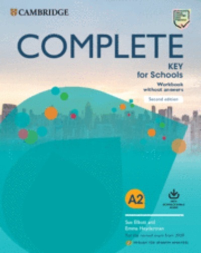 Complete Key for Schools for Spanish Speakers Workbook without answers with Downloadable Audio