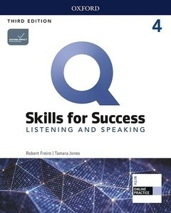 Q: Skills for Success 4 Listening and Speaking Student Book with iQ Online Practice
