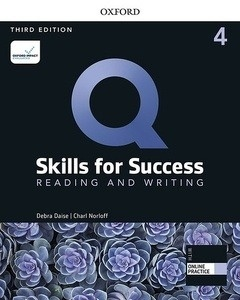 Q: Skills for Success 4 Reading and Writing Student Book with iQ Online Practice