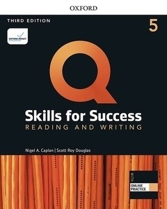 Q: Skills for Success 5 Reading and Writing Student Book with iQ Online Practice