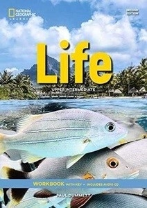 Life Upper Intermediate Workbook with Answer Key + Workbook Audio CD