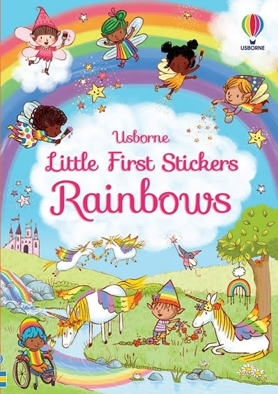 Little First Stickers Rainbows